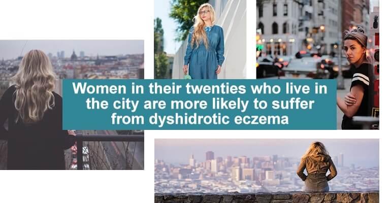 Women eczema